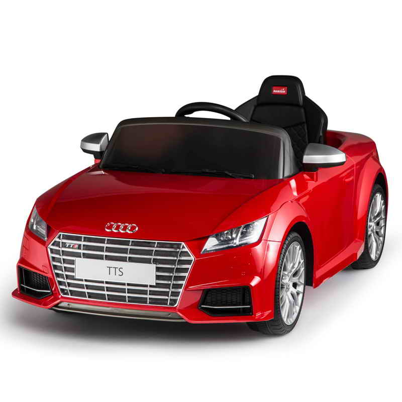 12v audi tts roadster rot kinder elektro auto kinderauto. Black Bedroom Furniture Sets. Home Design Ideas