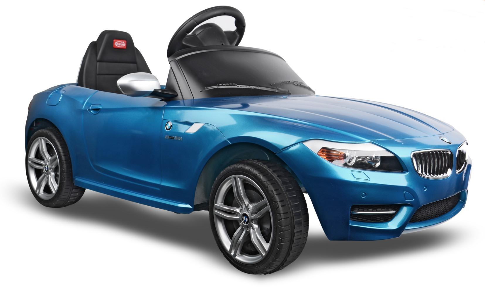 6v bmw z4 blau kinder elektro auto kinderauto online shop. Black Bedroom Furniture Sets. Home Design Ideas
