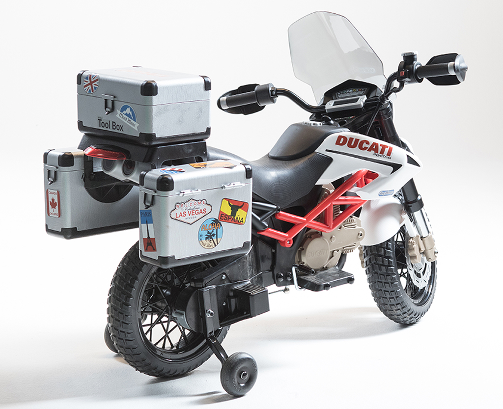 12v peg perego ducati hypercross motorrad kinderauto. Black Bedroom Furniture Sets. Home Design Ideas