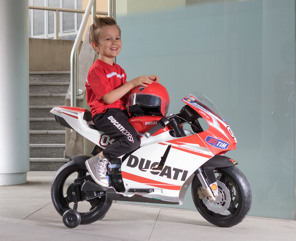 12v peg perego ducati gp motorrad kinderauto online shop