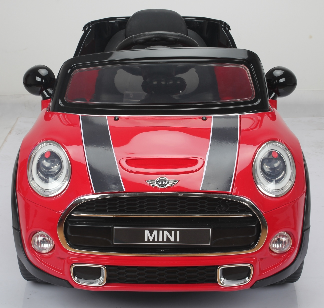 12v mini cooper s kinder elektro auto rot kinderauto online shop. Black Bedroom Furniture Sets. Home Design Ideas