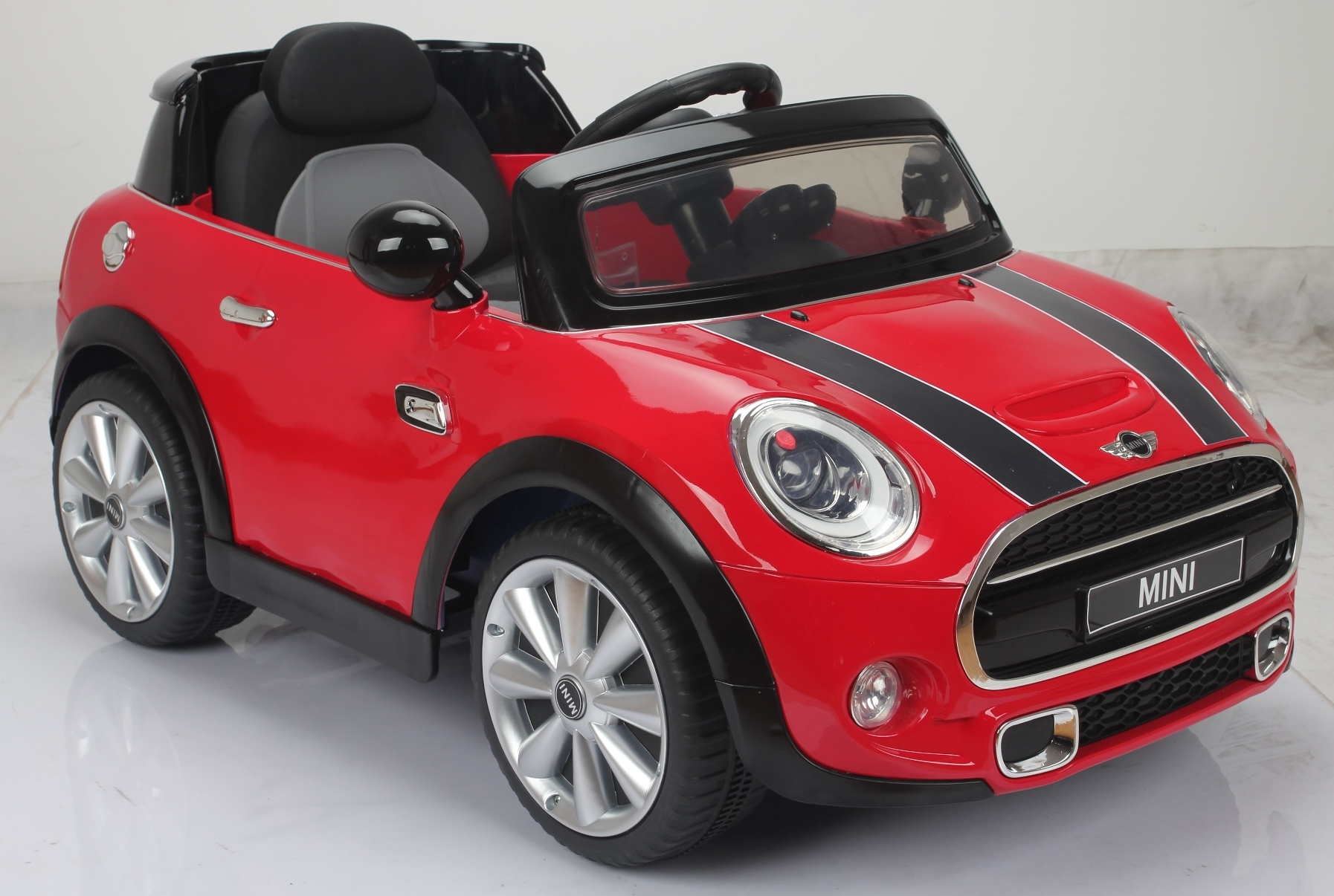 12v mini cooper s kinder elektro auto rot kinderauto. Black Bedroom Furniture Sets. Home Design Ideas