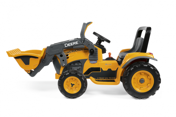 12v peg perego deere construction loader elektro traktor. Black Bedroom Furniture Sets. Home Design Ideas