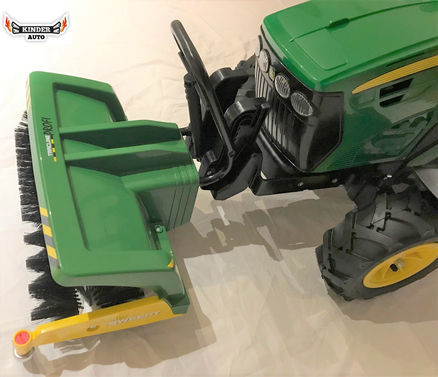 Rolly Toys Kehrmaschine Sweepy Fur Peg Perego Traktoren Kinderauto Online Shop