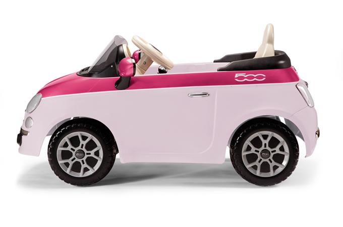 6v peg perego fiat 500 pink elektro auto. Black Bedroom Furniture Sets. Home Design Ideas
