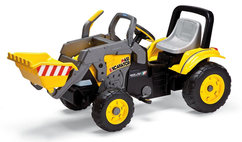 peg perego maxi excavator kinder trettraktor kinderauto. Black Bedroom Furniture Sets. Home Design Ideas