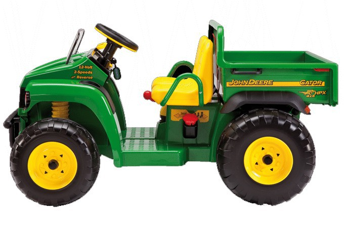 12v peg perego john deere gator hpx zweisitzer. Black Bedroom Furniture Sets. Home Design Ideas
