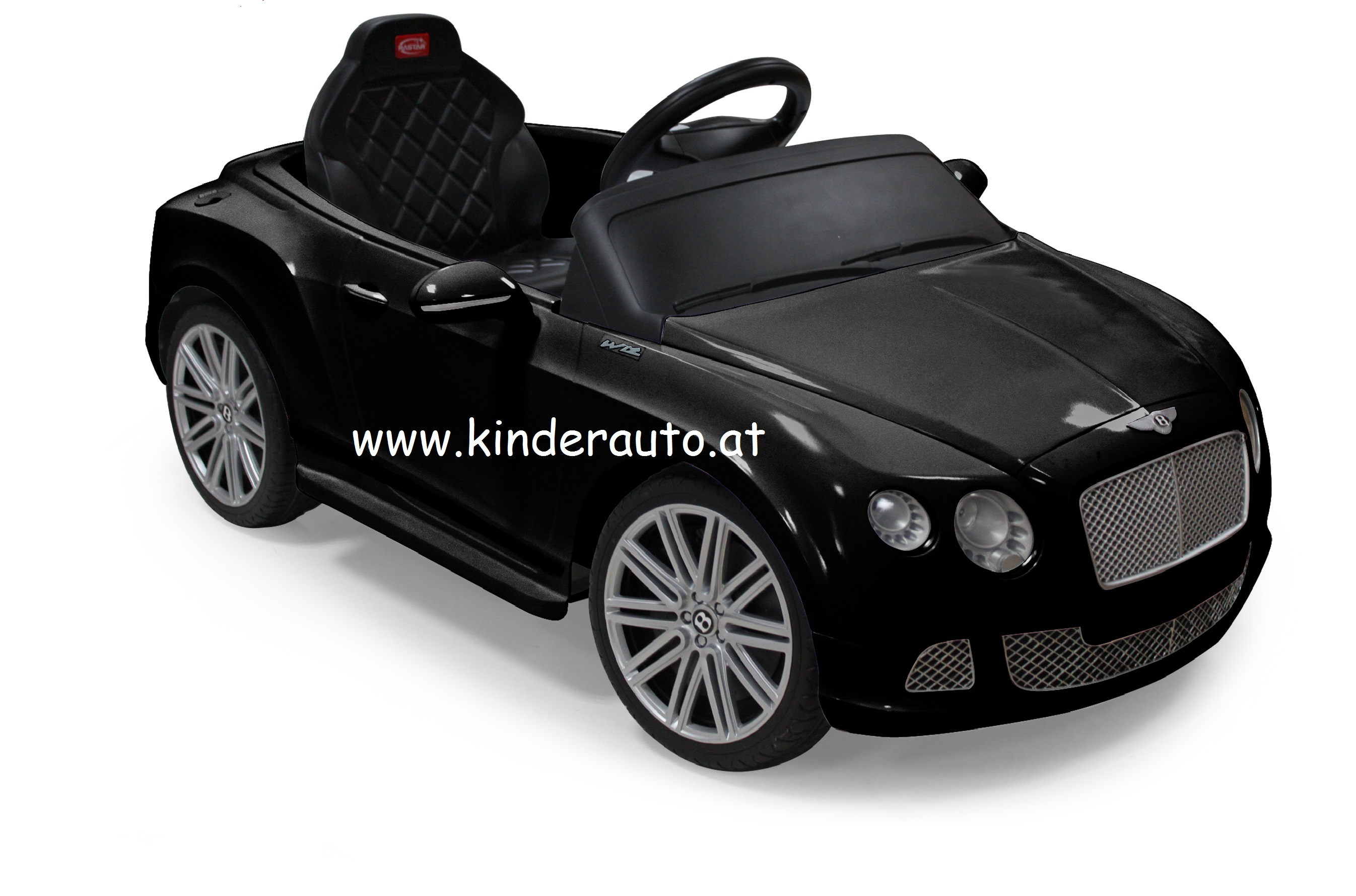 bentley gtc schwarz kinder elektro auto kinderauto