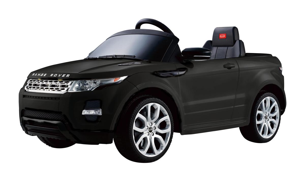12v Range Rover Evoque Schwarz Kinder Elektro Auto Land