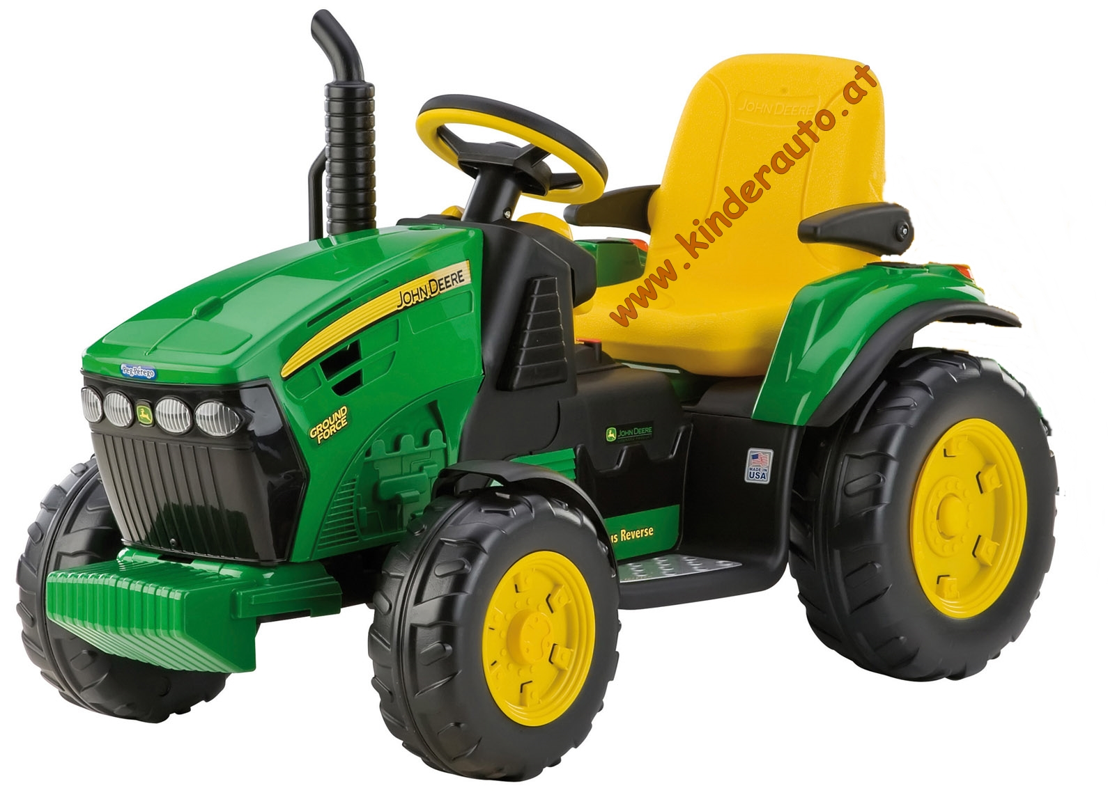 12v peg perego john deere ground force elektro traktor. Black Bedroom Furniture Sets. Home Design Ideas