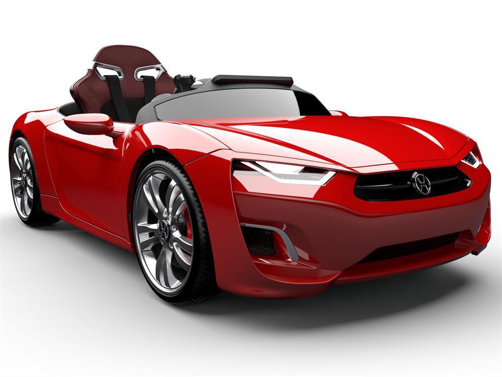 henes broon f830 luxus kinder elektroauto rot kinderauto. Black Bedroom Furniture Sets. Home Design Ideas