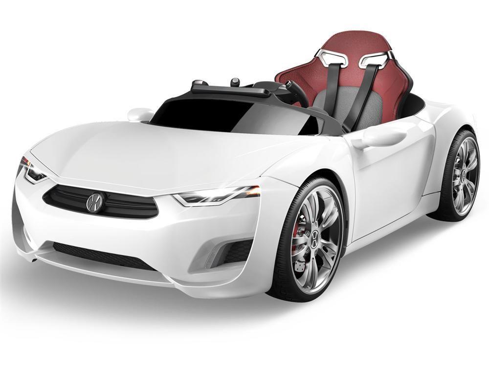 henes broon f810 luxus kinder elektroauto wei. Black Bedroom Furniture Sets. Home Design Ideas