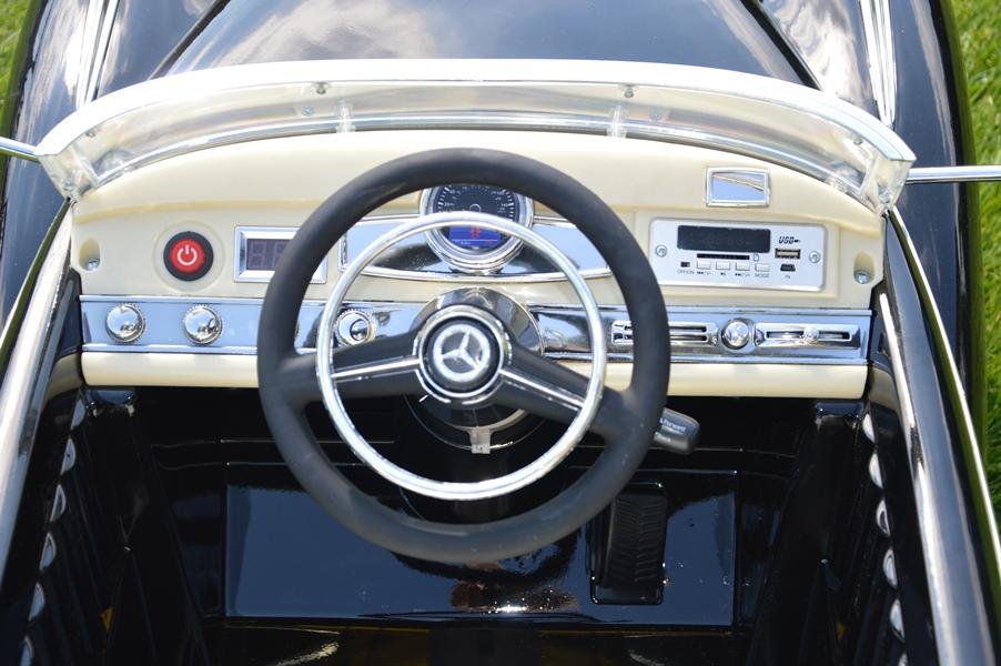 12v mercedes benz 300s oldtimer kinder elektro auto. Black Bedroom Furniture Sets. Home Design Ideas