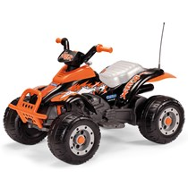 12V PEG PEREGO Corral T-Rex Elektro Quad schwarz orange