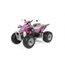 12V PEG PEREGO Polaris Outlaw Elektro Quad pink Power