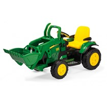 12V PEG PEREGO John Deere Ground Loader Elektro Traktor