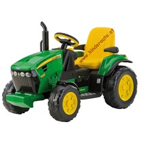 12V PEG PEREGO John Deere Ground Force Elektro Traktor mit 2 Akkus