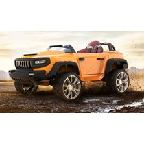 HENES BROON T870 orange Luxus Kinder Elektro Auto Allrad 4x4 24Volt